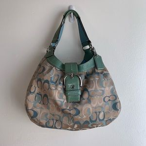 COACH Soho Optic Lynn Hobo Shoulder Bag
